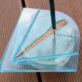 MYTEC Clear Center Finder per ottagono tondo esagonale Stock Accessori per la lavorazione del legno Strumenti di misurazione