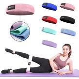 Multi-warna M-XL Home Resistance Band Pelatihan Hip Kebugaran Yoga Peregangan Pull Up Assist Bands Karet gelang