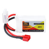 ZOP Power 11.1V 1300MAH 20C 3S Lipo Batterie T Plug für RC Car