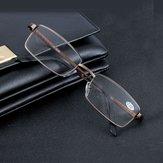 Aluminium Alloy Reading Glasses Resin Lens Presbyopic Glasses