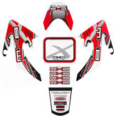 Motorcycle 3D Sticker Decals For Honda CRF50 Little Flying Eagle Protector