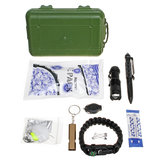 25 in 1 SOS Emergency Camping Survival Equipment Tools Kit Outdoor Gear Tactical Tool