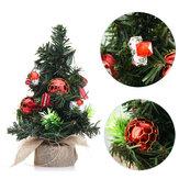 DecoraçõesparafestadeNatalHome Supplies Mini árvore de natal com brinquedos ornamentos