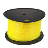 100 m Sarı Kare 3mm Tel Kordon Plastik STIHL Strimmer Kesme Kafa Biçme Için
