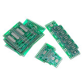 105Pcs 7 Values Each 15 PCB Board Kit SMD Turn To DIP SOP MSOP SSOP TSSOP SOT23