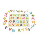 Alfabet ABC Houten Puzzel Speelgoed Kinderen Kids Learning Educational Gift