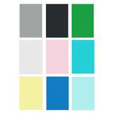 6x9FT Зеленый Черный Белый Синий Желтый Розовый Серый Сплошной Цвет Фотография Фон Студия Опора Фон