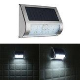 ARILUX® Solar Güç 13 LED PIR Hareket Sensör LED Lamba Outdoor Bahçe IP65 Güvenlik Duvarı Lamba