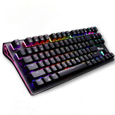 Royal Kludge G87 87 Keys Mechanical Gaming Keyboard Wireless bluetooth 3.0 USB Wired RGB Keyboard