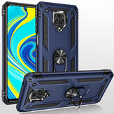 Bakeey Armor with 360° Degree Rotatable Magnetic Ring Holder Shockproof PC Protective Case for Xiaomi Redmi Note 9S / Redmi Note 9 Pro