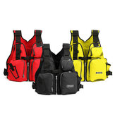 Universal 53x39x20cm Nylon Adult Adjustable Life Jacket Mulltifunctional Fishing Vest Jacket Tackle
