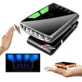 2-Engrenagens 100Lumen recarregável LED Clip-on Cap Chapéu Luz USB Acampamento de pesca Caminhadas faróis sensoriais