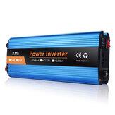 Convertitore di onde sinusoidali modificato da 4000W LCD Power Inverter 12/24/48 / 60V a CA 220V