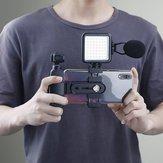 W49 Digital LED Lumière vidéo 6000K Petite lampe Trou de montage trou de montage de 4 pouces Connecteur universel pour DSLR DJI Support d'extension pour caméra de poche OSMO