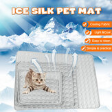 Bakeey Pet Pad Summer Cooling Mat Dog Beds Mats Ice Pad Cool Cold Silk Moisture-Proof Cooler Mattress