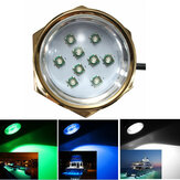 27W 1800LM DC 11-28V Titanium Under Water LED Light para Yacht Boat Car Motorcycle