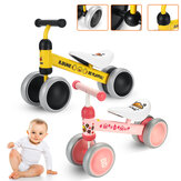 B.DUCK Toddler Balance Bike Slidding Scooter Bike 4 Wheels Baby Infant Walker Sports Trainer Push Bike Ride on Toys For Ages 1/2/3 Boys Girls