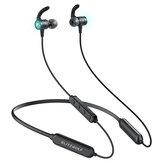 BlitzWolf® BW-FLB1 bluetooth 5.0 Earphone Wireless Neckband Low Latency Mode Gaming Earphone Stereo Bass Sport Headphone with Mic