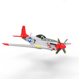Volantex RC 768-1 Mustang P-51D 750 mm Wingspan EPO Warbird RC Airplane PNP