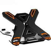 ICE COOREL E5 Laptop Cooler Notebook Cooling Pad 8 Gear Regulation 360 Degrees Rotation Stand Lift Bracket foldable Phone Bracket Stand for 12-17 inch Laptops