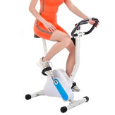 LED Display Fitness Upright Bicycle Folding Indoor Exercise Bike Cardio Trainer For Sport Workout Gym Fitness