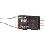 Récepteur double antenne Radiolink R8F 2.4G 8CH avec transmission bidirectionnelle pour les modèles de bateaux de voiture RC
