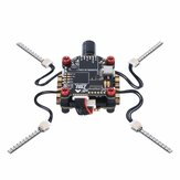 Zeez F7 FC MPU6000 5V/3A BEC 6UARTS OSD 30.5 * 30.5mm 3-8S + Zeez 60amp 4-in-1 BLHeli_32 ESC + Zeez LED-systeem FPV Combo RC Stack voor FPV Racing RC Drone