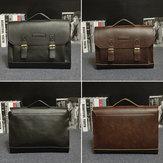 Rétro sac hommes sacs à main en cuir hommes sacs à main affaires occasionnels ordinateur portable sac messager sac de bureau