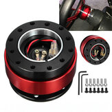 Universal Aluminum Alloy Steering Wheel Quick Release Hub Adapter Off Boss Kit
