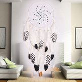 Dreamer White Rétro Handmade Indian Dream Catcher Tribal Wall Hanging Decor Ornements