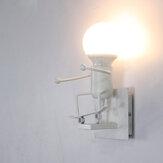 220V E27 Kinkiet LED Kinkiet Żelaza Kinkiet Kreatywny Design Salon Sypialnia