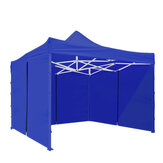 9.8x6.2FT Canopy Side parede Panel Gazebo Barraca Shelter Shade Zipper Pano da parede lateral
