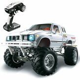 HG P407 1/10 2.4G 4WD RC auto voor TOYATO Metal 4X4 pick-up truck Rock Crawler RTR speelgoed