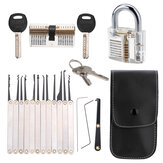 Unlocking Lock Opener Kit Locksmith Training Transparent Practice Padlocks Tools