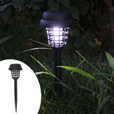 Zonne-energie Outdoor Mosquito Fly Bug Insect Zapper Killer Trap Lamp Garden