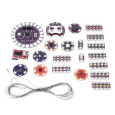 LilyPad Kit Wearable Electronic LED and Sensor Kit Temperature Sensor with Cable LilyPad for Arduino - products that work with official Arduino boards