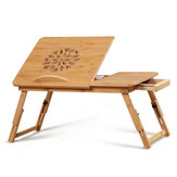 Portable Folding Bamboo Laptop Table Sofa Bed Office Stand Desk For Computer Notebook Books Business Office Home Supplies