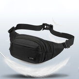 Men Nylon Multi-carry Sport Outdoor Waist Bag Chest Bag Shoulder Bag