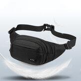 男性Nylonマルチキャリースポーツアウトドアウエストバッグチェストバッグショルダーバッグ