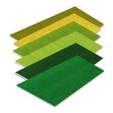Tapete de grama Artificial Artificial Tapete Cena Modelo de Layout de Areia Artesanal para Ferramentas de Mesa