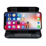 Carbon Fiber Dashboard Suction Cup Car Phone Holder 360 Degree Rotation For 3.5-6.5 Inch Smart Phone iPhone Samsung