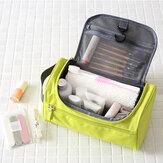 ホナナHN-TB6ハンギングトイレタリートラベルバッグ防水シェービングキットメイクオーガナイザー