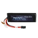 Gens ace 7.4V 7600mAh 25C 2S Lipo Batteria Con spina TRX per auto RC