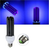 E27 15W 20W 30W 40W Straight Shape Purple Fluorescent Blacklight CFL Light Bulb Lamp AC220V