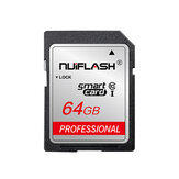 Карта памяти Nuiflash SD 32GB Class10 SDHC 64GB 128 ГБ Карта памяти SDXC SD Flash Карта для камера