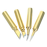 4pcs Golden Lead-free 900M Series Soldering Iron Tips IS I K SK 4 Types