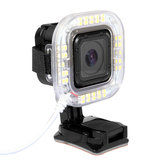 1.9W 160 LM 38pcs USB LED lampe de poche anneau pour GoPro Hero 4 Session