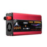 DOXIN® القوة العاكس 2000W ذروة تعديل موجة جيبية محول تيار منتظم 12V / 24V إلى AC 220V USB المكونات مدخل