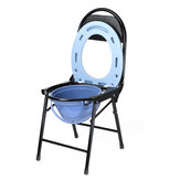 Folding Commode Potty Chair Steel Plastic Chair