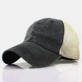Gorra de Béisbol Retro Sun Sombrero Transpirable Sombreros